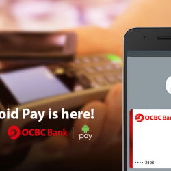 OCBC: Enjoy a 5% rebate when you use your OCBC Cards with AndroidPay