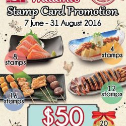 Watami: GSS Stamp Card promotion