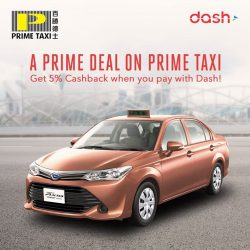 Singtel: Dash is now accepted on all Prime Taxis islandwide