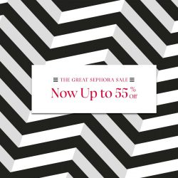 Sephora: The Great Sephora Sale up to 55% OFF your fave beauty brands