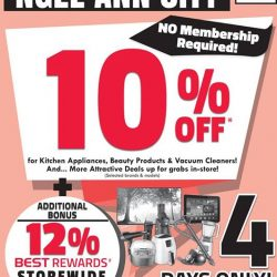 Best Denki: Get 10% OFF at Ngee Ann City outlet!
