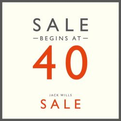 Jack Wills: Summer Sale up to 40% off