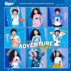 Bossini: Enjoy 20% off Finding Dory Collection