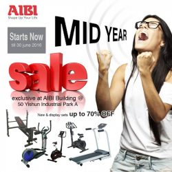 AIBI: Mid Year Sale of up to 70% off for our NEW and DISPLAY sets