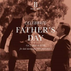 Benjamin Barker: Pre-Father's Day Specials - Buy 2 shirts at $130