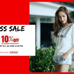 MOSS: Great Singapore Sale - Enjoy 10% off* on all online regular priced items