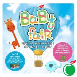 Cold Storage: Baby Fair at Novena Atrium