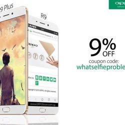 OPPO: Coupon Code for 9% OFF OPPO Products