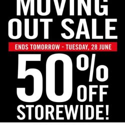 The Paper Stone: Moving Out Sale at Harbourfront Store 50% OFF Storewide