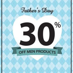 Missha: Get 30% off Men products from today till 19th June 2016!