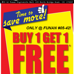 Battle Bunker: Buy 1 Get 1 FREE at Funan