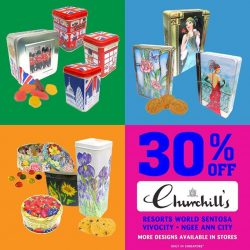 Candylicious: Enjoy 30% off Churchill's confectionery sweets, biscuits and chocolate