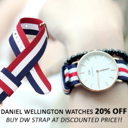 Cityluxe: Save 20% on Daniel Wellington watches
