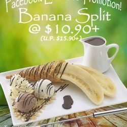 Andersen's of Denmark Ice-Cream: Like our Facebook page to get a Banana Split for only $10.90