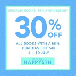 Epigram Food Books: Promo Code for 30% OFF Storewide