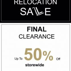 YellowKorner: Relocation Sale Up to 50% OFF Storewide