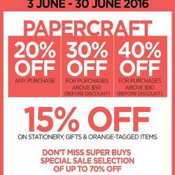 Papermarket: GSS Sale Up to 40% OFF