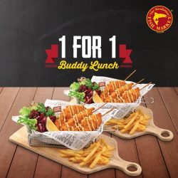 The Manhattan FISH MARKET: Weekday 1-for-1 Turkey Bacon Snapper 'n Chips