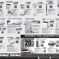 Best Denki: Hari Raya Bagus Deals + Get Additional 20% OFF on EuropAce products at Waterway Point
