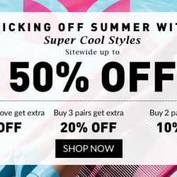 Mdreams: Melissa Summer Sale Sitewide Up to 50% OFF