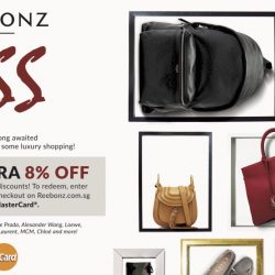 Reebonz: GSS Mastercard Discount 8% & The Greatest Reebonz Sale Event
