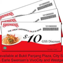 Swensen's: Great Swensen's Sale - Get a $10 Return Voucher with Every $60 Spent