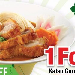 Hei Sushi: 1 For 1 Katsu Chicken Ramen & $10 off with min $50 spending for all SAF personnel