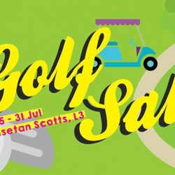 Isetan Scotts: Golf Sale with Cut Coupon Specials