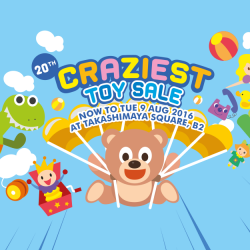 Takashimaya: Craziest Toy Sale is back!
