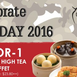 Yum Cha Restaurant: 1-for-1 Weekday High Tea Buffet for SAF Personnel