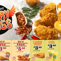 Popeyes: NEW Crispy Hot Curry Wings & Coupon Deals!