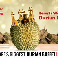 Resorts World Sentosa: Durian Fest 2016 & Buy 2 Adult Tickets Get a Free RWS Invites Silver Membership (Worth S$196)
