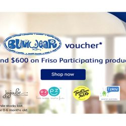 NTUC FairPrice: Get a $230 Bumwear Voucher with $600 Spend on Friso Participating Products