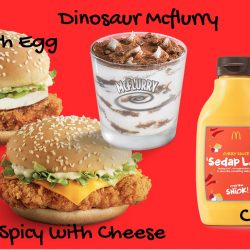 McDonald's: NEW Dinosaur McFlurry & Frappé, McSpicy® with Egg/Cheese & Curry Sauce Bottle Available NOW