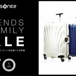 Samsonite: Friends and Family Sale Up to 70% OFF
