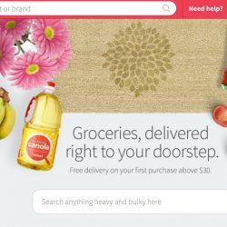 Redmart: Coupon Code for Extra 12% OFF + Free Delivery on your first order