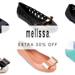 Zalora: Coupon Code for Extra 30% OFF MELISSA Shoes