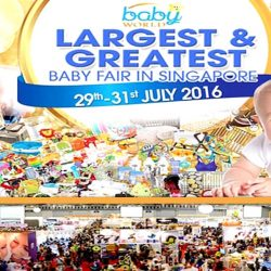 Singapore Expo: Baby World Fair 2016 - No. 1 Biggest Baby Fair