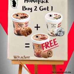 Andersen's of Denmark Ice-Cream: GSS Promotion - Homepack Buy 2 Get 1 FREE (worth $13.95)