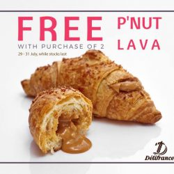 Delifrance: Buy 2 P'NUT LAVA and get 1 FREE