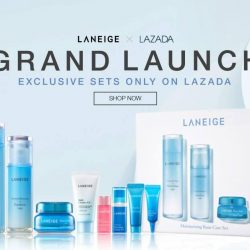 Lazada: Save up to 30% OFF on exclusive Laneige x Lazada sets