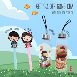 Gong Cha: Exclusive HJ Story collectibles Available now