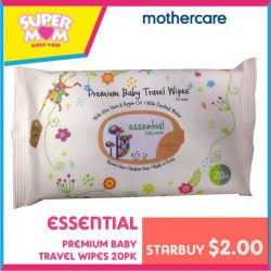 Mothercare: Starbuys and Up to 70% OFF at Supermom Baby Fair