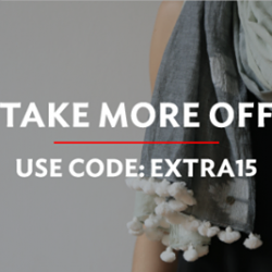 MATTER PRINTS: Coupon Code for Extra 15% OFF All Sale Items