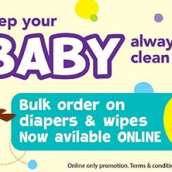 Babies'R'Us: Bulk Orders Available on Diapers and Wipes online + Free Shipping