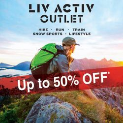 LIV ACTIV: Additional 5% off at the LIV ACTIV Outlet Store for Passion Card Holders