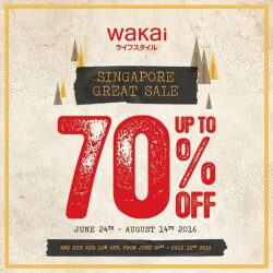 Wakai: Irresistable GSS deals Up to 70% OFF