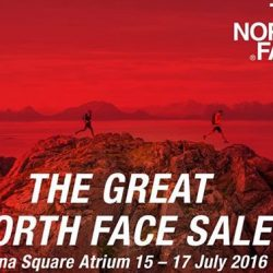 The North Face: The Great North Face Sale at Marina Square Central Atrium