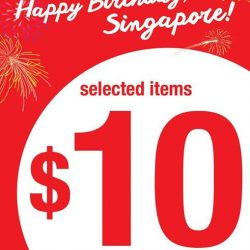Giordano: National Day Special - Selected items at $10 every second piece!