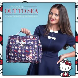 Maternity Exchange: Ju Ju Be's Out to Sea Hello Kitty Collection Launch